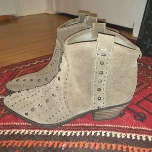 Sam Edelman cowboy boots booties